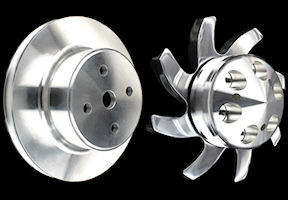 bbc pulleys billet