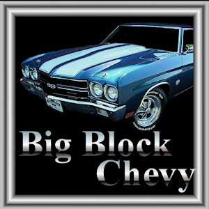 Chrome Big Block Chevy Engine Parts