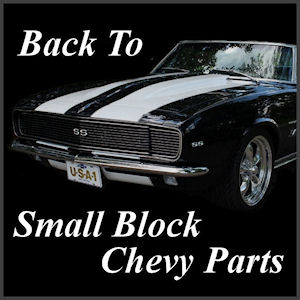 chrome small ;lock chevy parts