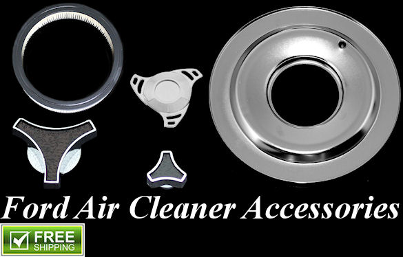 ford air cleaner accessories