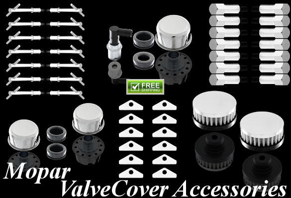 mopar dodge plymouth chrysler valve cover accessories