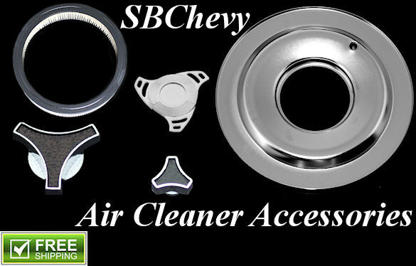 small block chevy air cleaner accessories