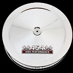 MCC105-3 Chrome 454 Chevy air cleaner with 454 high performance emblem