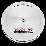 MCC167-3SBC Chrome air cleaner with 383 emblem for Chevy 383 stroker engines