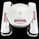 MCC10595T chrome big block 454 emblem tall valve cover and 454 emblem air cleaner combo