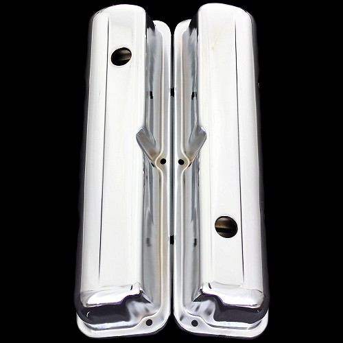 MCC118 Chrome fe valve covers fits fe Ford engines 352 360 390 427 428