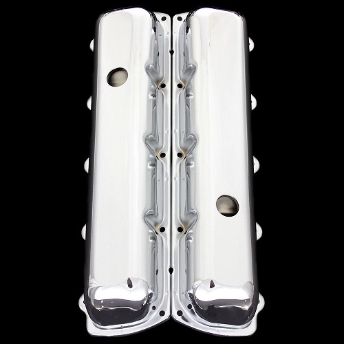 MCC122 chrome oldsmobile valve covers factory height 330 350 455