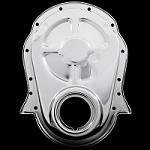 MCC317 chrome big block chevy timing cover 396 427 454