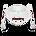 MCC47388 BB Mopar 440 magnum emblem valve covers and air cleaner combo