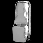 MCC501 chrome big block chevy oil pan fits 396 427 454 and gen4 502 1965-1990