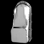 MCC508 Chrome Pontiac oil pan fits 326 350 400 455