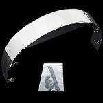 MCC527 chrome radiator fan shield 3 inch fits ford chevy mopar poniac olds