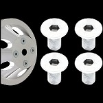 MCC862X4 flush mount pulley bolts for billet water pump pulley set of 4