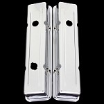 MCC94s Chrome small block valve covers 3 hole for Chevy 327 350 383 400 Short