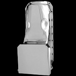 MCC9728 chrome big block chevy DEEP oil pan fits 396 427 454 and gen4 502 1965-1990