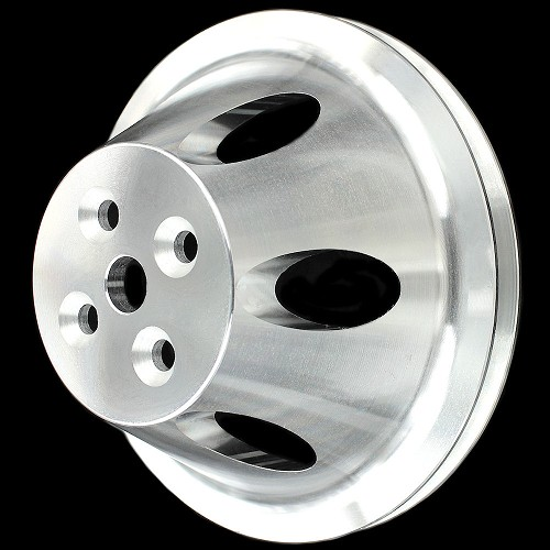 MCC903 Billet small block chevy 1 groove short water pump upper pulley