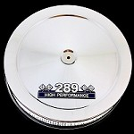 MCC49 Chrome 289 emblem air cleaner fits small block ford 289 engines