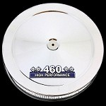 MCC52-3 Chrome air cleaner with 460 emblem fits big block Ford 460 engines
