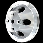 MCC908 Billet small block chevy 1 groove long water pump upper pulley