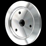 MCC917 Billet big block chevy crankshaft pulley 1 groove for short water pump 396 427 454